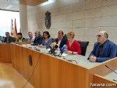 Gobierno municipal y organizaciones sindicales suscriben el acuerdo de condiciones de trabajo de los empleados p�blicos del Ayuntamiento de Totana para el per�odo 2019/22