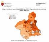La incidencia acumulada por COVID-19 en el �rea de Salud III es de 51,1 casos por cada 100.000 habitantes