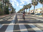San Pedro del Pinatar cortará al tráfico las vías paralelas al Parque Regional y la línea costera durante el fin de semana para favorecer el paseo y la práctica deportiva