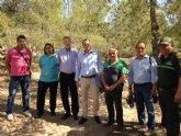 Agricultura aborda la recuperación y mejora del monte público La Muela de Albudeite