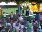 Los alumnos de 2 años de la Escuela de Preescolar recibieron la visita del eco parque móvil