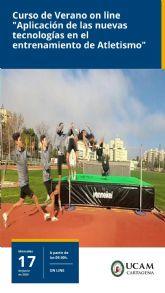 El 17 de junio, cita On line con las nuevas tecnologías y el atletismo, de la mano de UCAM Cartagena