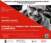 Fernando Pindado participa el jueves en las Jornadas de videoconferencias Poscovid-19, afrontar el futuro de las ciudades en claves