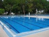 Las piscinas del Polideportivo de Cieza abrirán sus puertas el sábado 4 de julio