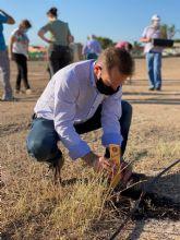 Torre Pacheco celebró el Día del Medio Ambiente con una iniciativa a través de redes sociales y con la plantación de árboles