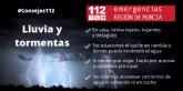 Meteorolog�a ampl�a el aviso de nivel naranja por tormentas al Valle del Guadalent�n, Lorca y �guilas