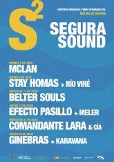Un cartel de lujo para la primera edición del SEGURA SOUND