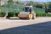 Las nuevas pistas de tenis estarán terminadas con el inicio de la nueva temporada deportiva