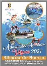 Programa de actividades acu�ticas y gimnasio 2021