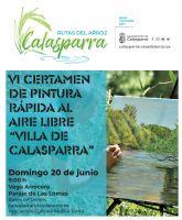 VI certamen de pintura rápida al aire libre 'vVlla de Calasparra'