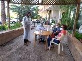 El concejal de Bienestar Social visita la residencia �La Pur�sima�