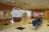 Agricultura acoge la exposición de alumnos de Bellas Artes de la UMU sobre las Salinas de San Pedro del Pinatar