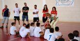 Alejandro Yepes Balsalobre 'Alex' visita el I Campus de Fútbol Sala 'La Cantera'