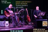 Concierto de Jaime Lafuente y Jesús Ronda en el Club Atalaya