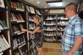 Calabardina recibe, un verano más, al Bibliobús