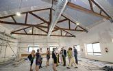 Los Garres estrenará un nuevo centro cultural de 554 m2 en septiembre, con salón multiusos y sala de estudio 24 horas