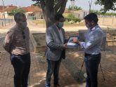 La Comunidad entrega al Ayuntamiento de Los Alcázares el proyecto del nuevo colector de pluviales para recibir la aprobación municipal