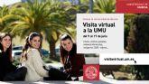 La Universidad de Murcia inicia visitas virtuales para dar a conocer su oferta de estudios, las facultades y sus servicios