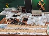 La Guardia Civil desmantela un grupo delictivo dedicado a la falsificación, receptación y blanqueo a través de establecimientos ´compro-oro´