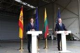 Sánchez subraya en Lituania el compromiso de Espana con la defensa común y con la seguridad e integridad territorial de los aliados