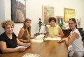 El Ayuntamiento y AMEL firman un convenio para fomentar el comercio local y el empleo en Puerto Lumbreras
