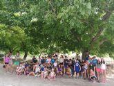 90 chicos disfrutan en nerpio del campamento organizado por juventud