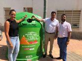 El Ayuntamiento se suma a la campaña 'Recicla vidrio y pedalea' con motivo de la llegada de La Vuelta a España 2018 a San Javier