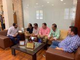 El primer teniente de alcalde, Mario Gómez, acompañará a la Federación de Peñas en la Ruta de la Huerta al Mar
