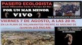 """Por Un Mar Menor Vivo convoca un """"paseo ecológico"""""""