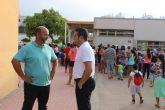 4.724 alumnos de Educación Infantil y Primaria inicias sus clases en Alcantarilla