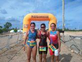 San Pedro del Pinatar cierra la temporada de triatlones con su tercera edición del triatlón popular