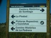 El Ayuntamiento renueva la señalización turística del casco urbano, espacios naturales y senderos