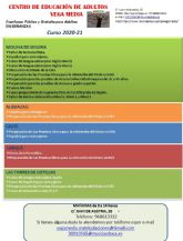 Abierto el plazo de solicitud de matrícula para el Centro Comarcal de Educación de Adultos Vega Media de Molina de Segura hasta el día 11 de septiembre