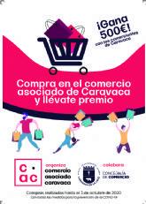 Los clientes que efectúen sus compras hasta el 3 de octubre en el comercio asociado de Caravaca optarán a un cheque regalo para gastar en los establecimientos valor de 500 euros