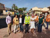 La Comunidad mejora la seguridad vial de la travesía de Balsicas