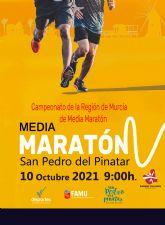 El 10 de octubre, San Pedro del Pinatar se cita con la RCH y el Regional de Media Maratón