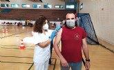 Previsi�n de vacunaciones covid-19 en Totana para ma�ana jueves 9 de Septiembre