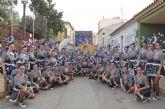 El desfile de carrozas pone música, luz y color a las fiestas de Puerto Lumbreras