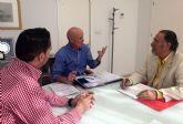 El nuevo presidente de ASECOM presenta su línea de trabajo al Ayuntamiento de Las Torres de Cotillas