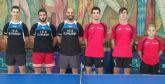 Resultados fin de semana. Club Totana TM. 2ª nacional. dos victorias y liderato