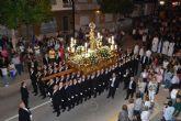 La Patrona de Torre Pacheco en Procesión por las calles de la localidad