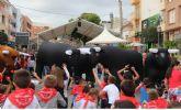 Centenares de pequeños lumbrerenses participan en el Encierro Infantil