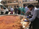 López Miras asiste al día de los mayores de Los Alcázares, coincidiendo con la celebración de las Fiestas del Caldero