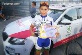 El totanero Luis Cayuela Cánovas triunfa en el Campeonato Regional de Ciclismo de Escuelas de Ruta