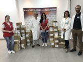 El Hospital de Molina dona 300 kgs. de leche en polvo infantil a Cruz Roja