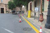 Se recuerda a los conductores que está prohibido estacionar frente a las fachadas del Ayuntamiento de Totana y la iglesia de Santiago