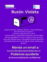 El Ayuntamiento de San Pedro del Pinatar a través del PAE crea 'El Buzón Violeta'