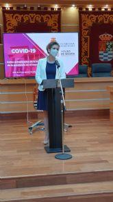 Molina de Segura mantiene 224 casos activos por COVID-19, 75 menos que hace una semana, con una incidencia acumulada en los últimos 7 días de 196,1