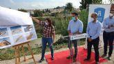 Los ayuntamientos de Molina de Segura y Las Torres de Cotillas firman un convenio para construir la pasarela peatonal que unirá las pedanías de La Ribera y La Loma