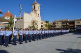 El alcalde recibió en el Ayuntamiento a los 137 nuevos alumnos de la AGA a los que declaró 'vecinos del municipio'